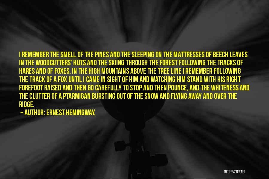 Right Track Quotes By Ernest Hemingway,