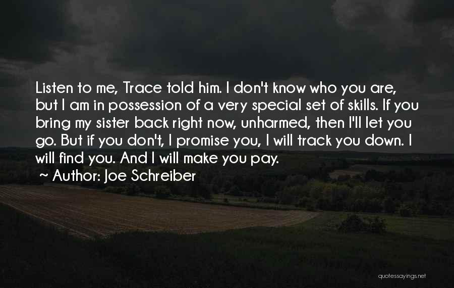 Right Track Quotes By Joe Schreiber