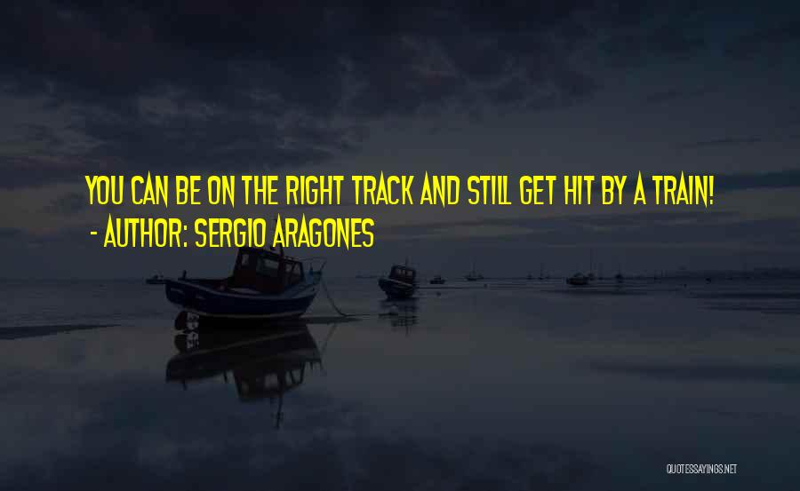 Right Track Quotes By Sergio Aragones