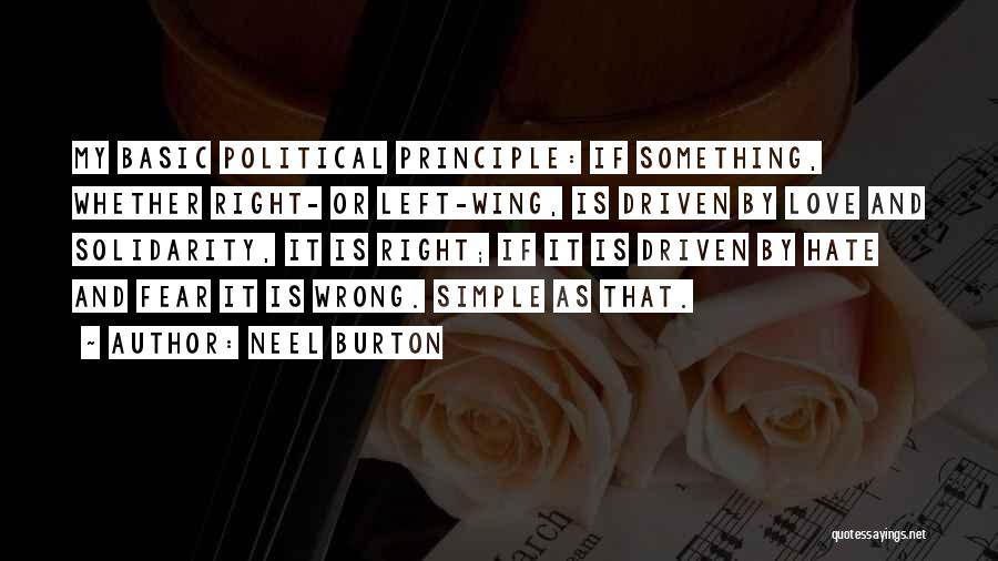 Right Wing Hate Quotes By Neel Burton