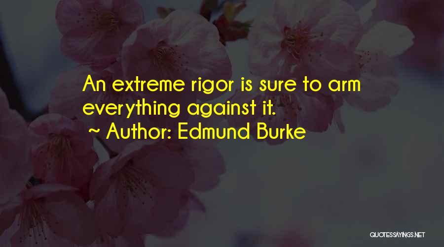 Rigor Quotes By Edmund Burke