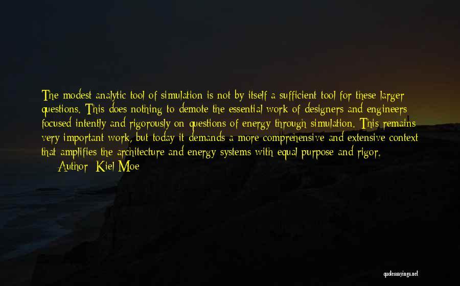 Rigor Quotes By Kiel Moe