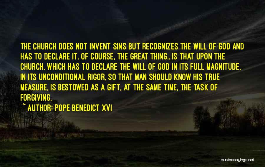 Rigor Quotes By Pope Benedict XVI