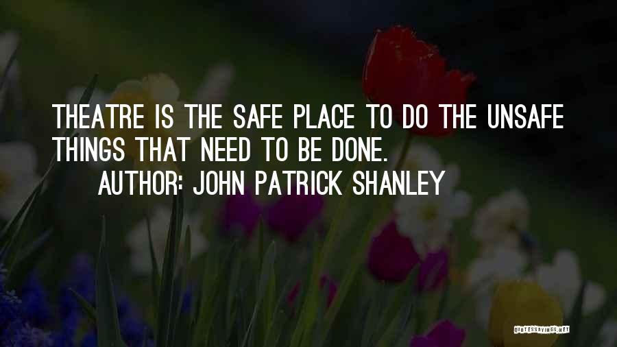 Rikki Chadwick And Zane Bennett Quotes By John Patrick Shanley