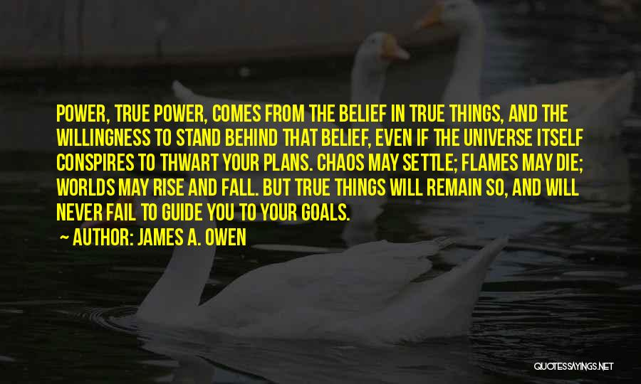 Rise And Fall Of Power Quotes By James A. Owen