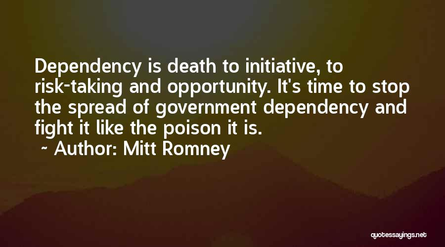 Risk And Opportunity Quotes By Mitt Romney