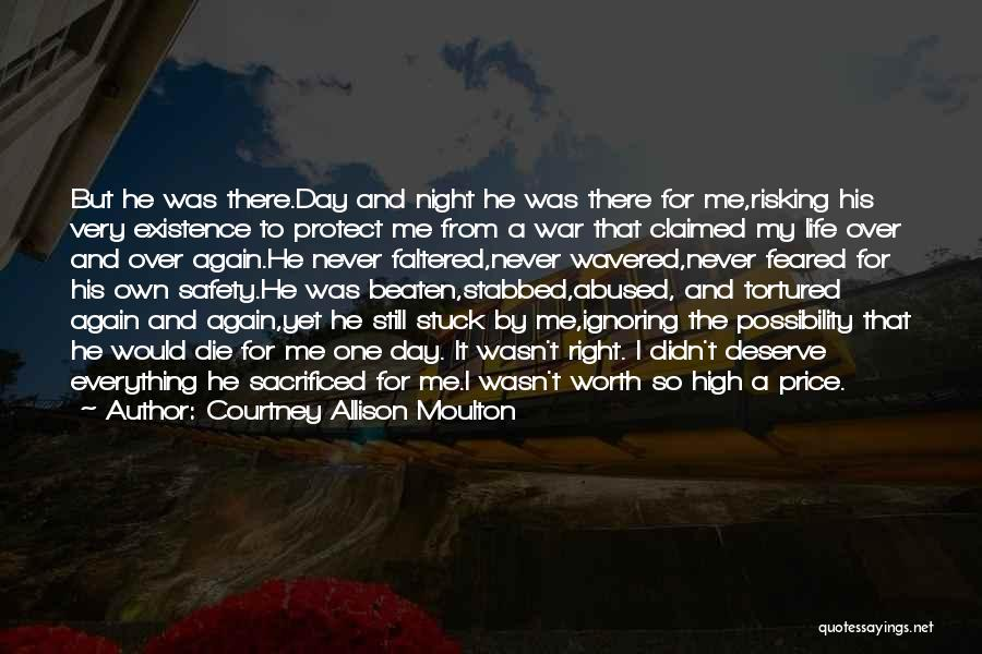 Risking For Love Quotes By Courtney Allison Moulton