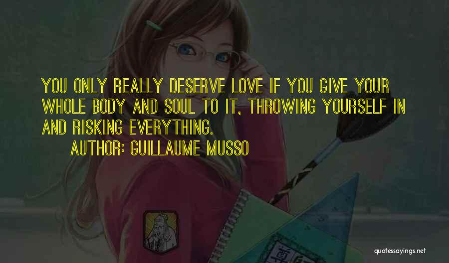 Risking For Love Quotes By Guillaume Musso