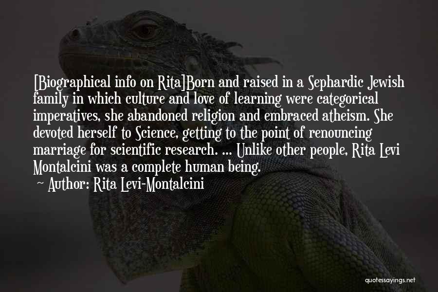 Rita Levi-Montalcini Quotes 1980667