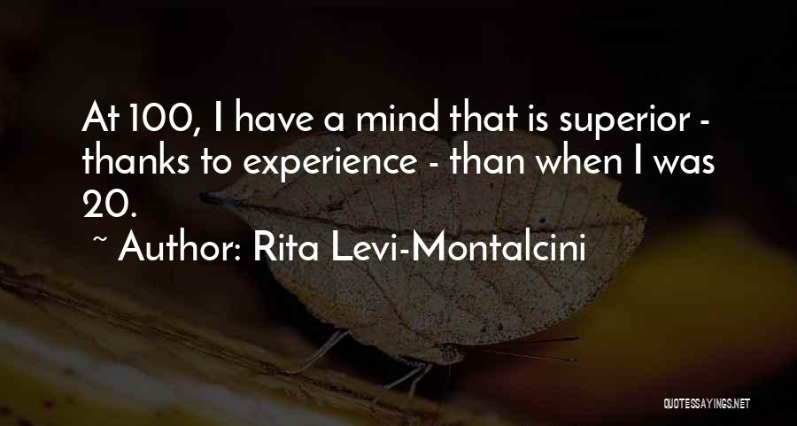 Rita Levi-Montalcini Quotes 489339
