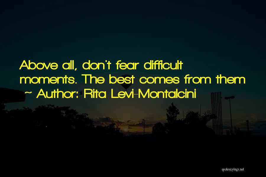 Rita Levi-Montalcini Quotes 543550