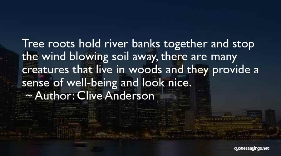 River Banks Quotes By Clive Anderson