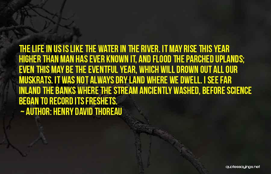 River Banks Quotes By Henry David Thoreau