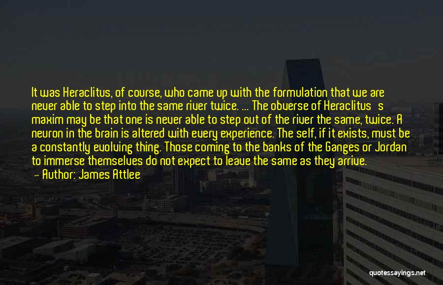River Banks Quotes By James Attlee