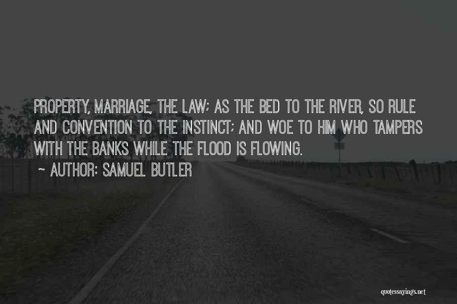 River Banks Quotes By Samuel Butler