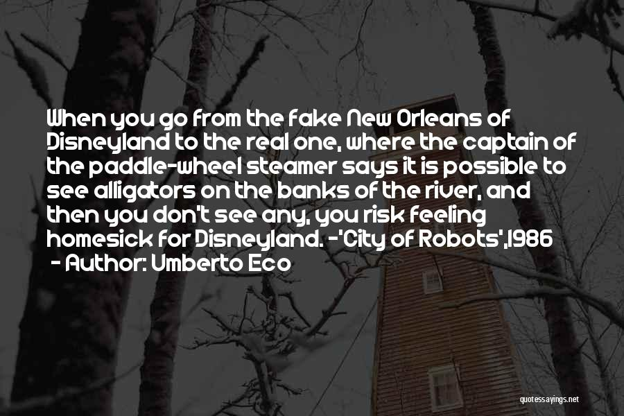 River Banks Quotes By Umberto Eco