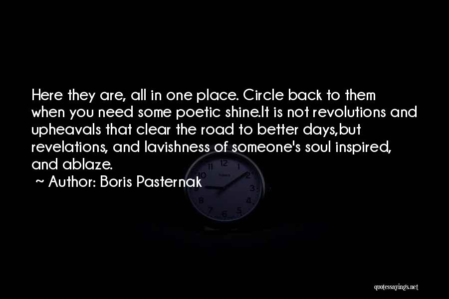 Road To You Quotes By Boris Pasternak