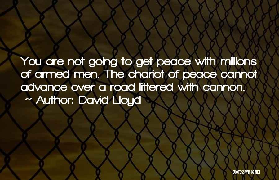 Road To You Quotes By David Lloyd