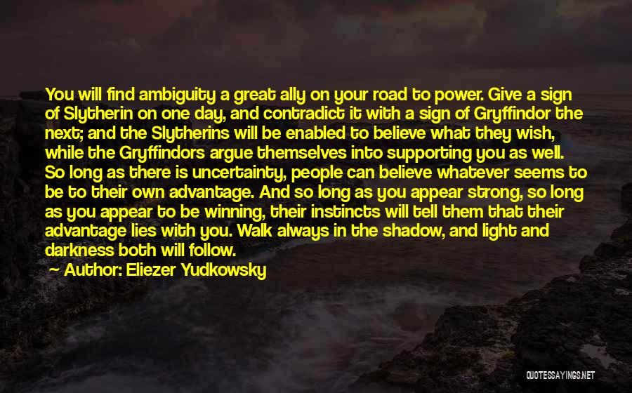 Road To You Quotes By Eliezer Yudkowsky