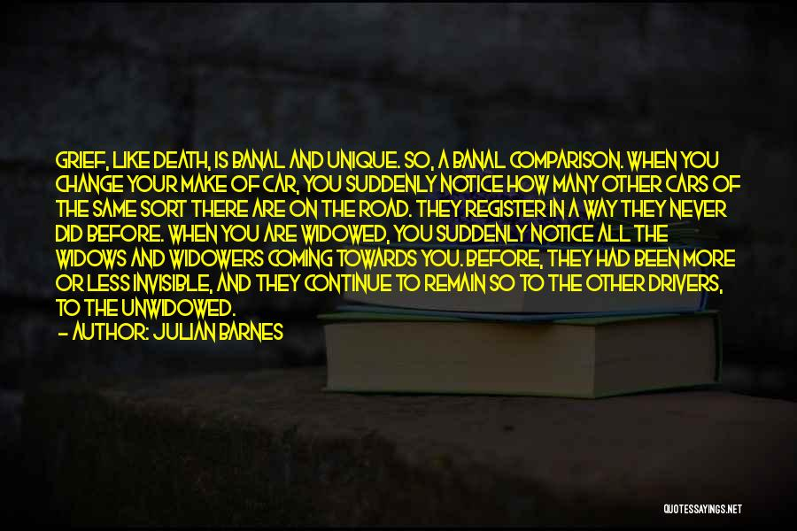 Road To You Quotes By Julian Barnes