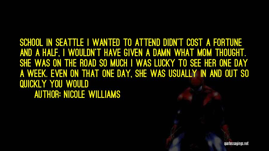 Road To You Quotes By Nicole Williams
