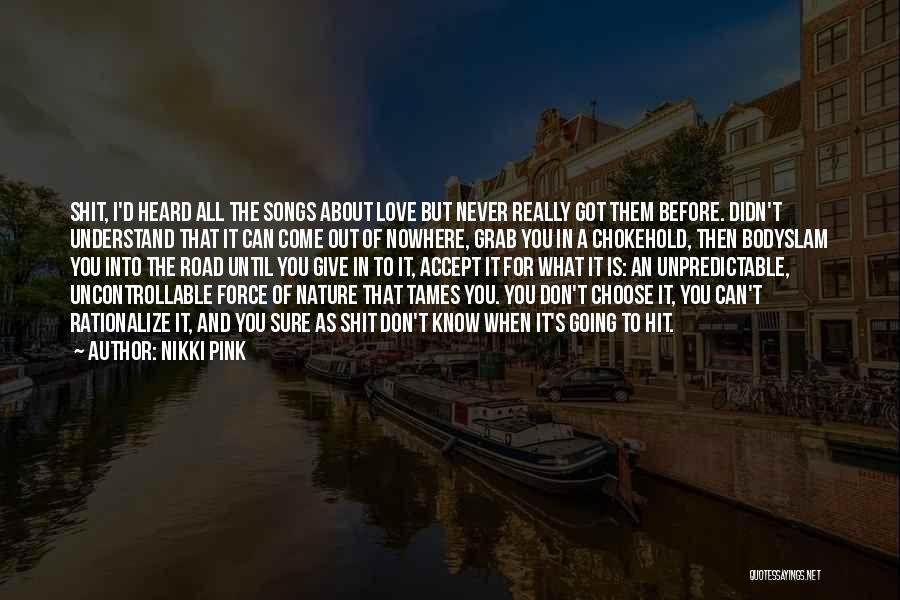 Road To You Quotes By Nikki Pink