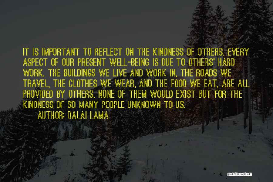 Roads And Travel Quotes By Dalai Lama