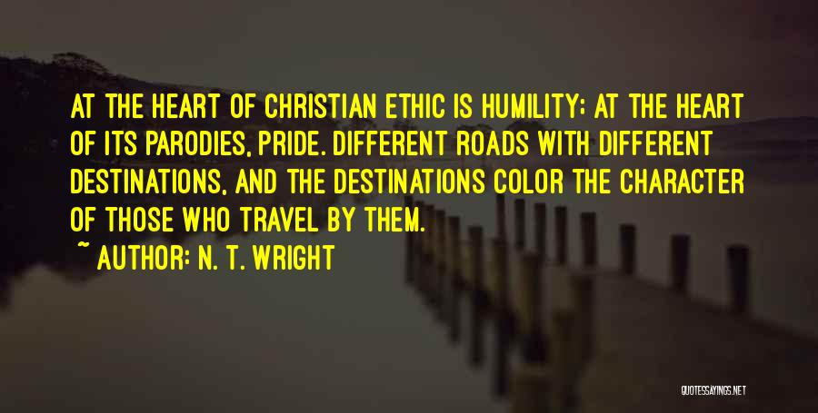 Roads And Travel Quotes By N. T. Wright