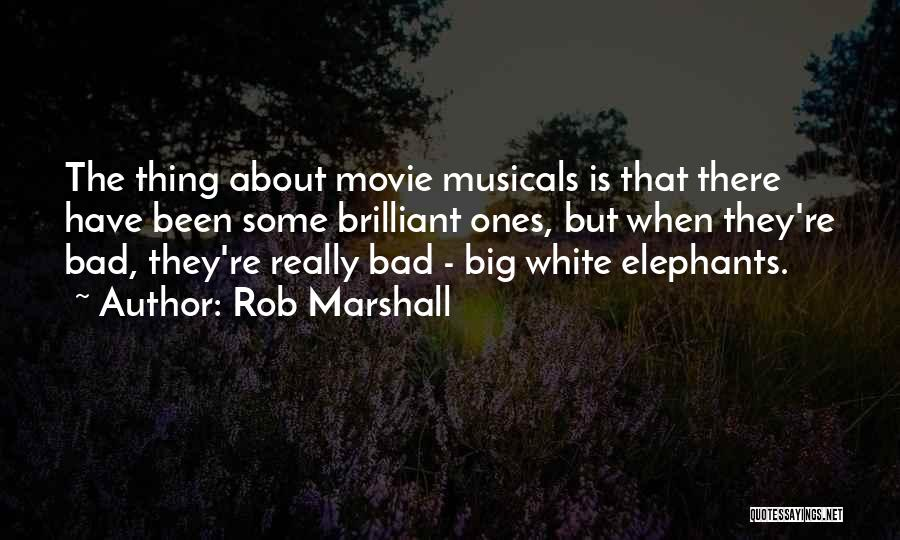 Rob Marshall Quotes 1927156