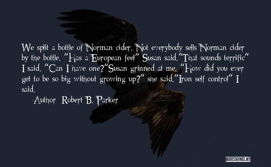 Robert B. Parker Quotes 288655