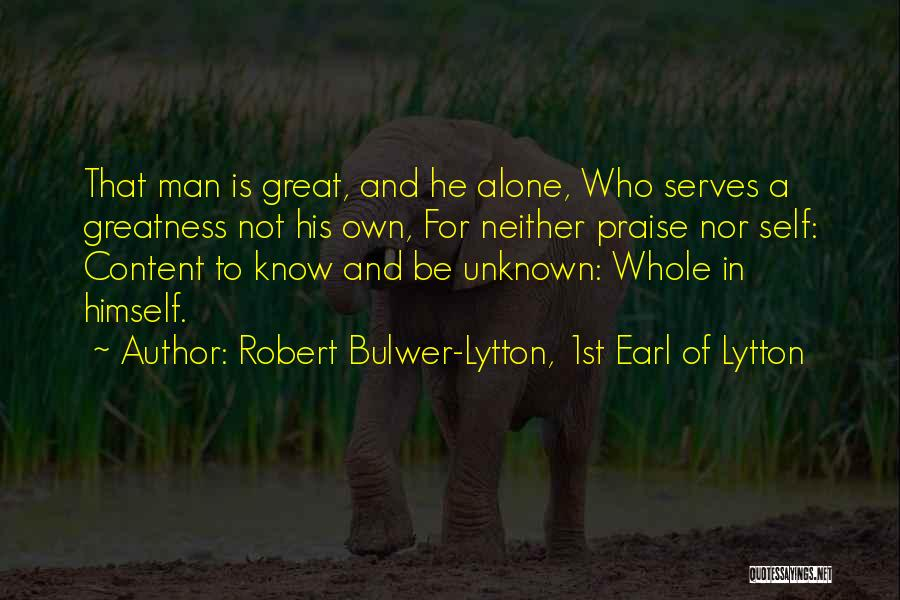 Robert Bulwer-Lytton, 1st Earl Of Lytton Quotes 1173138