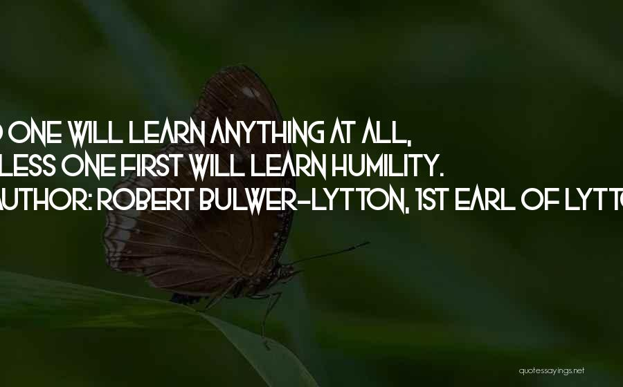 Robert Bulwer-Lytton, 1st Earl Of Lytton Quotes 1739227