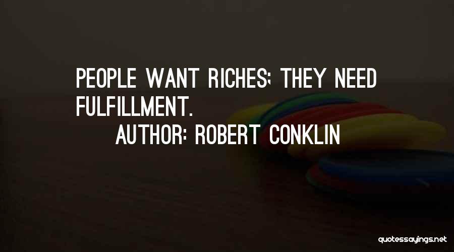 Robert Conklin Quotes 777344