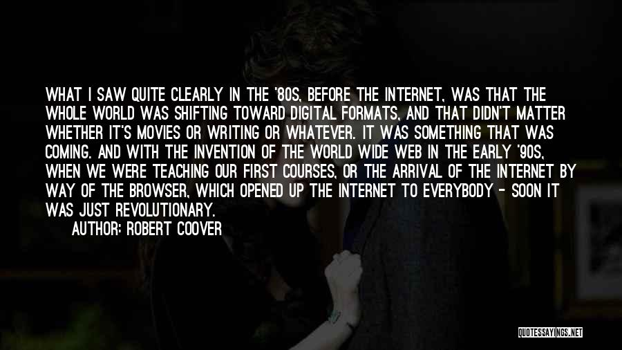 Robert Coover Quotes 2080288