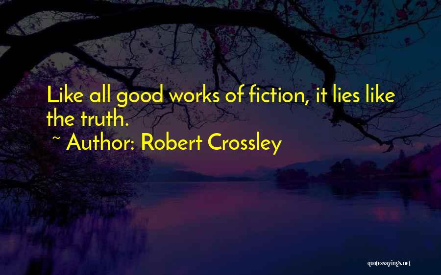 Robert Crossley Quotes 2250290