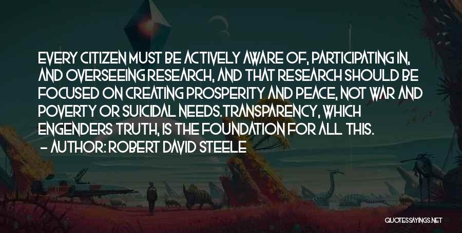 Robert David Steele Quotes 2040377