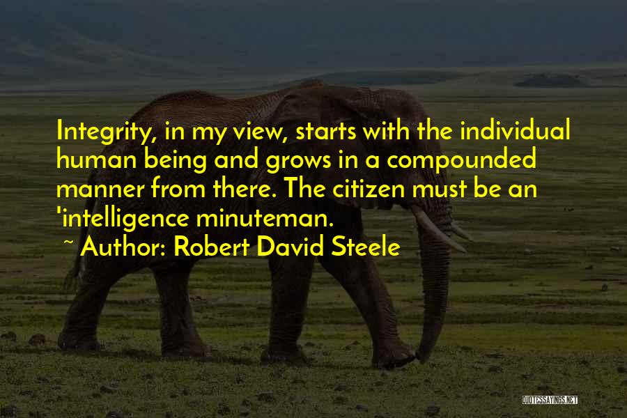 Robert David Steele Quotes 2109444