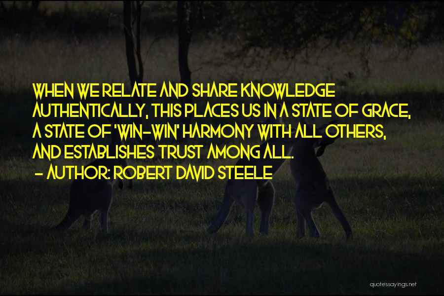 Robert David Steele Quotes 497584