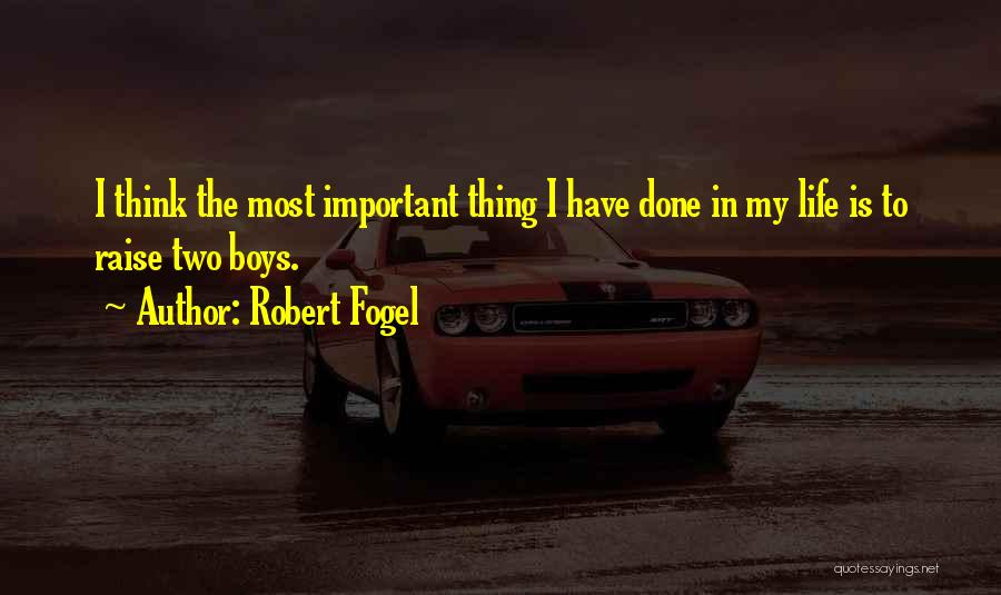Robert Fogel Quotes 1424791
