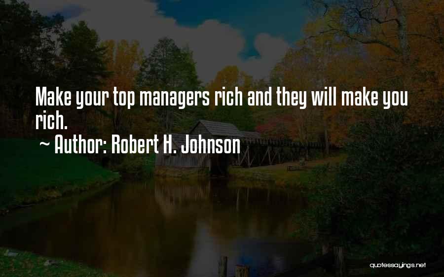Robert H. Johnson Quotes 715100