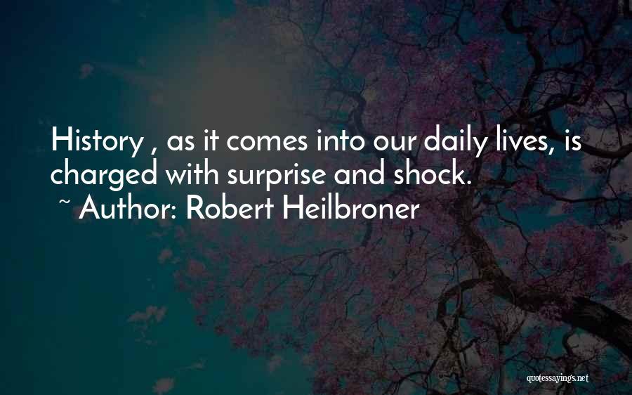 Robert Heilbroner Quotes 689398