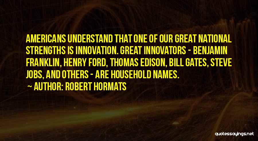 Robert Hormats Quotes 1547984