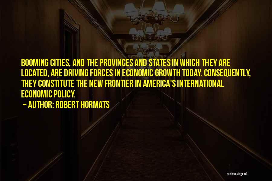 Robert Hormats Quotes 888362