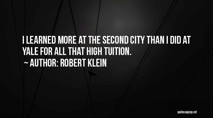 Robert Klein Quotes 348857