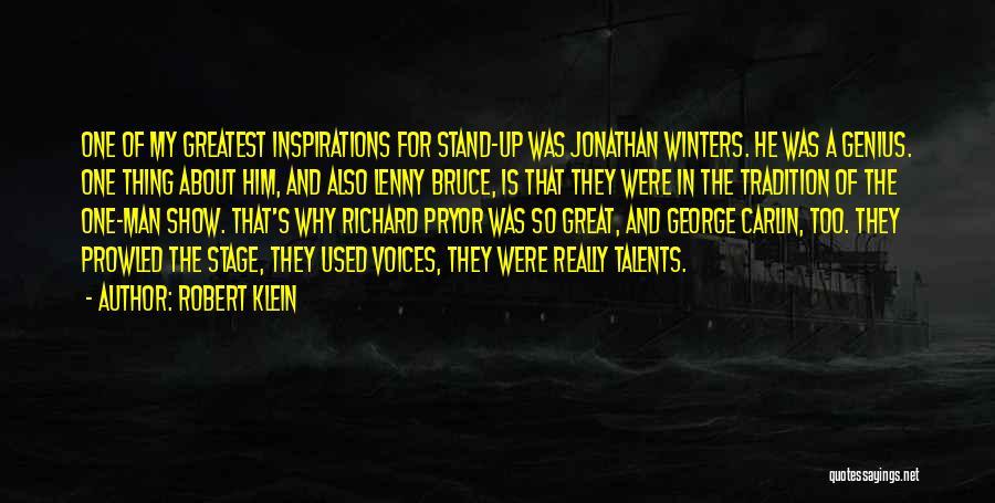 Robert Klein Quotes 816784