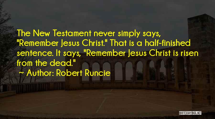 Robert Runcie Quotes 603393