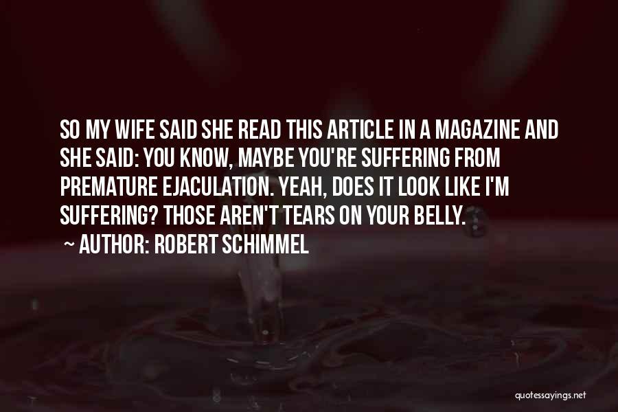 Robert Schimmel Quotes 1329297