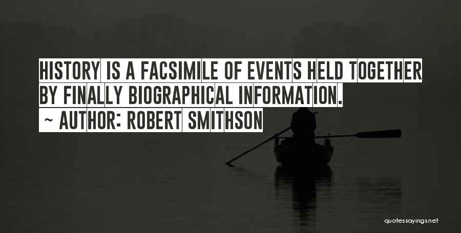 Robert Smithson Quotes 1097254