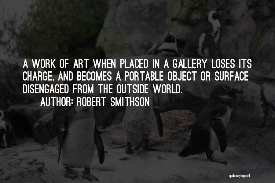 Robert Smithson Quotes 1875214