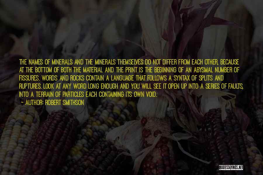 Robert Smithson Quotes 2025983